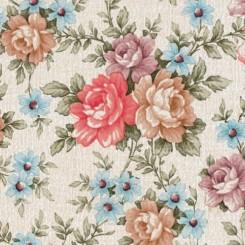 Selvklæbende folie store blomster 10224
