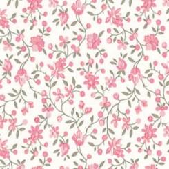 Selvklæbende folie rosa blomster 10238