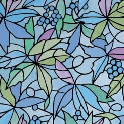 Selvklæbende folie farvet mønster 11814