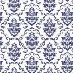Selvklæbende folie blå mønster 11899