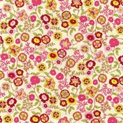 Selvklæbende folie blomster 12871