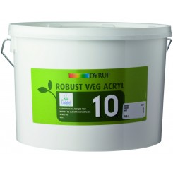 Robust væg Acryl 10 standardfarve